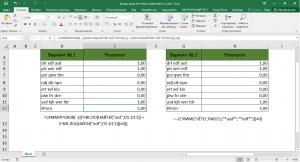 Подсчет клеток, которые содержат либо x или Y Excel